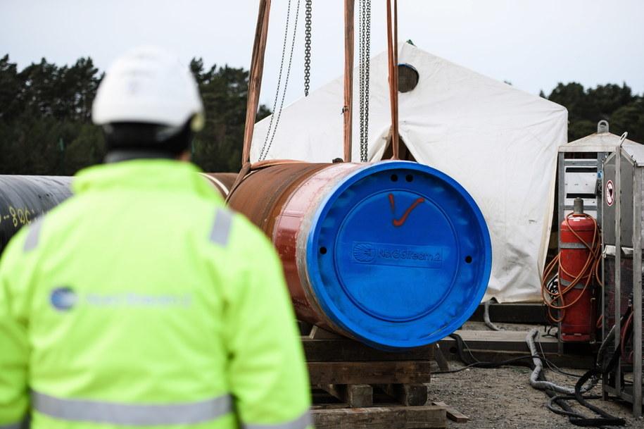 Budowa Nord Stream 2 /Clemens Bilan /PAP/EPA