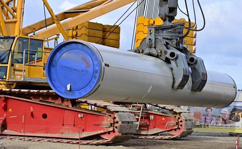 Budowa Nord Stream 2 /AFP