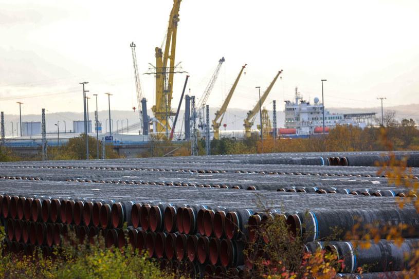Budowa Nord Stream 2 /Alex Kraus/Bloomberg /Getty Images