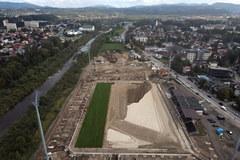 Budowa nowego stadionu Sandecji