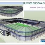 Budowa nowego stadionu w Gliwicach rozpoczęta