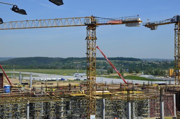 Budowa nowego terminalu. Fot. Kraków Airport /©123RF/PICSEL