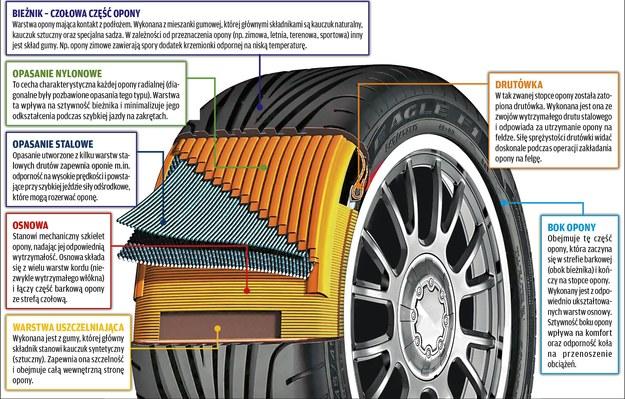 Budowa opony /Motor