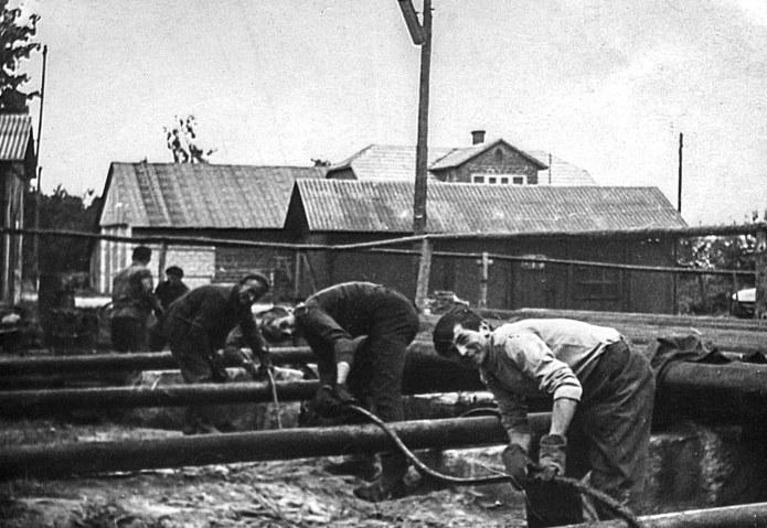 Budowa pierwszych gazociągów – Kopalnia Przemyśl-Zachód /materiały promocyjne