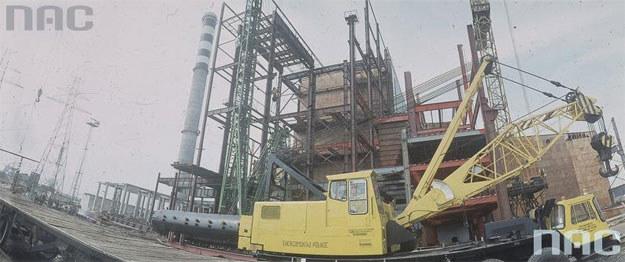 Budowa reaktora Maria na terenie Instytutu Badań Jądrowych w Świerku /Zbyszko Siemaszko /Z archiwum Narodowego Archiwum Cyfrowego