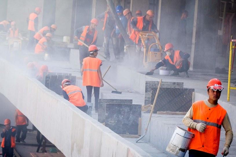 Budowa Samara Areny /AFP