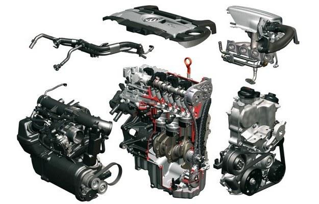 Budowa silnika 1.4 TSI Twincharger (160 KM) /Volkswagen