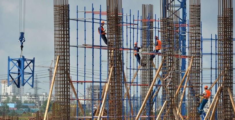 Budowa stadionu w Samarze /AFP