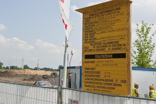 Budowa świątyni w Toruniu, fot. P. Lampkowski /Reporter