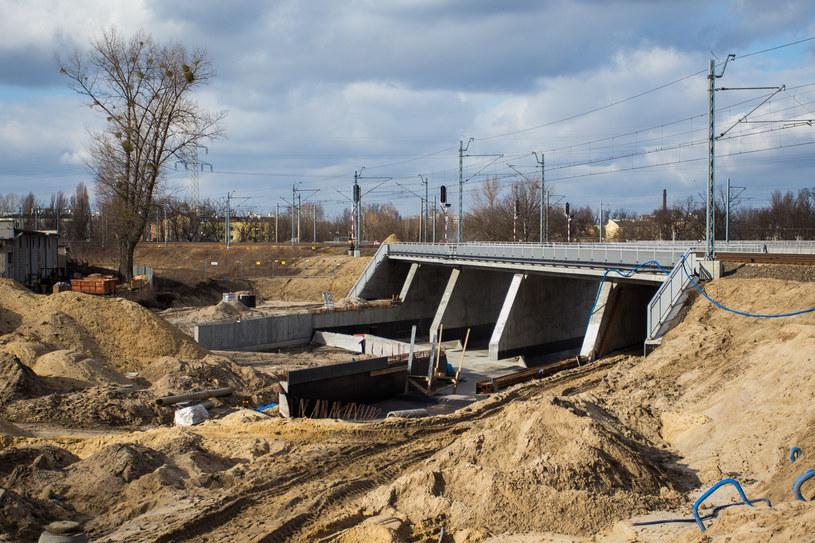 Budowa Trasy Świętokrzyskiej /Damian Kujawa /East News