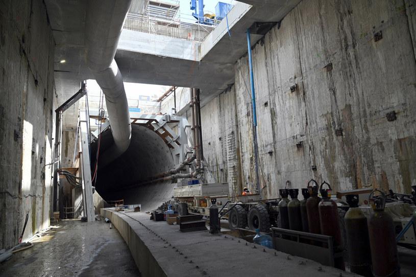 Budowa tunelu pod Świną. Fot. DOMIN /Agencja SE/East News