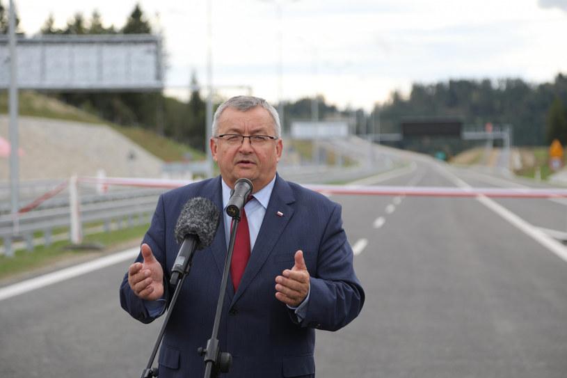 Budowa zakopianki to flagowa inwestycja PiS-u /Jan Graczyński /East News