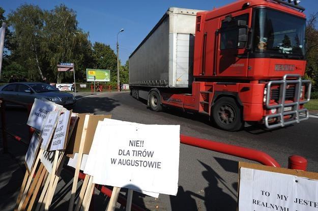 Budowę obwodnicy poprzedziła walka mieszkańców z ekologami / Fot: Michał Kość /Reporter