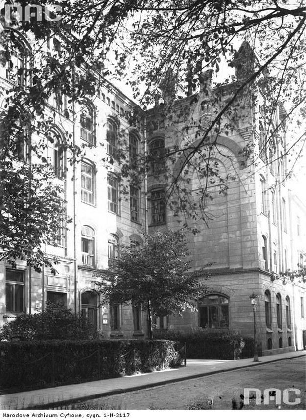 Budynek Akademii Górniczej przy ul. Loretańskiej 18 w Krakowie /Z archiwum Narodowego Archiwum Cyfrowego