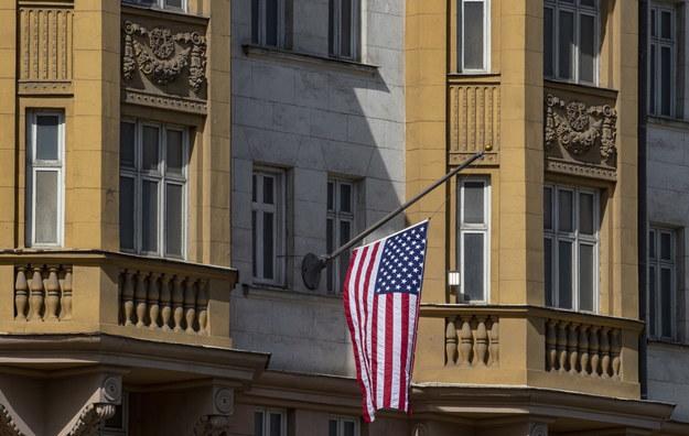 Budynek amerykańskiej ambasady w Moskwie /Sergei Ilnitsky /PAP/EPA