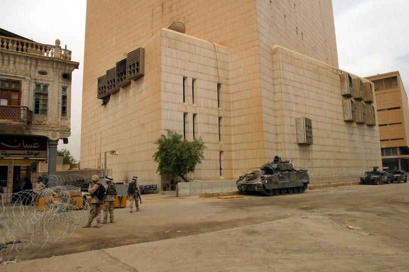 Budynek Banku Centralnego Iraku /INTERIA.PL/materiały prasowe