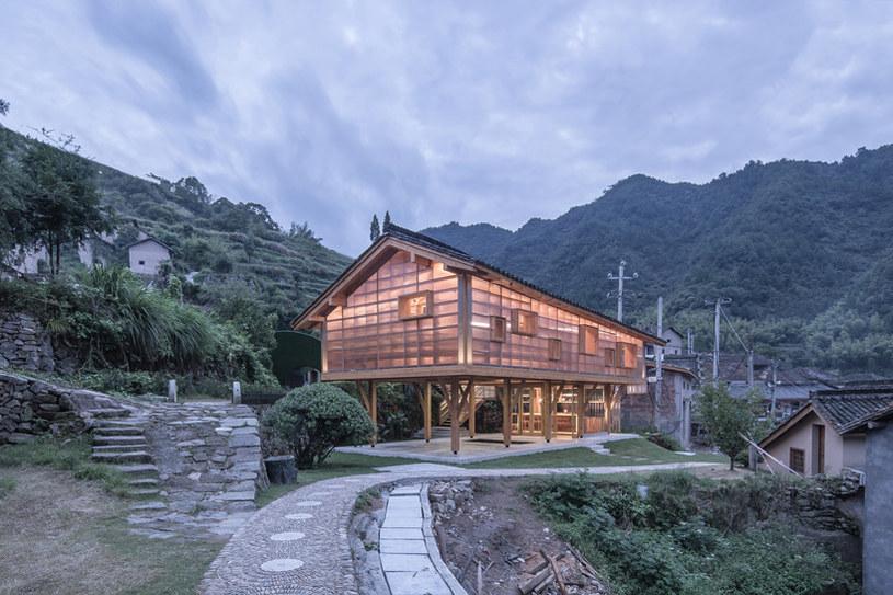 Budynek będzie komponował się z wiejskim otoczeniem /materiały prasowe