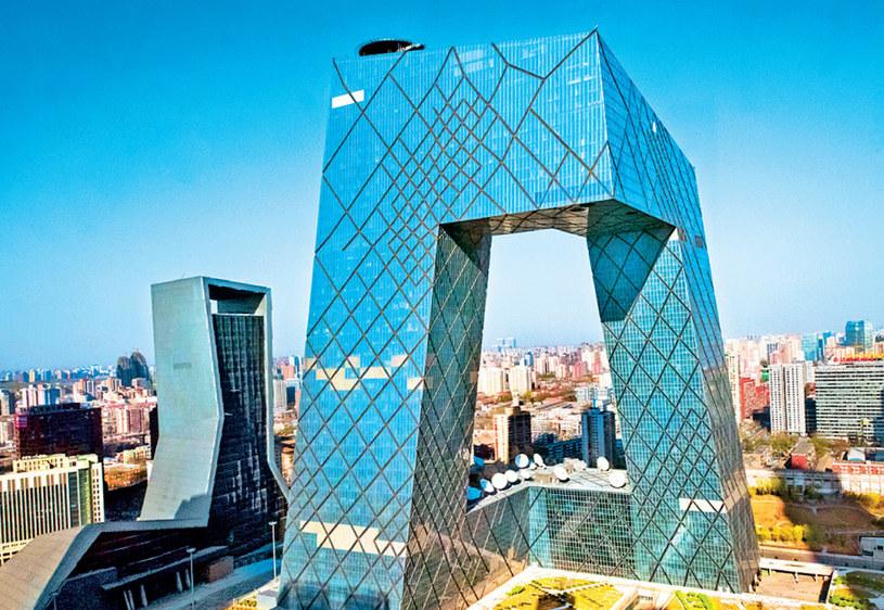 Budynek chińskiej telewizji /Świat na Dłoni