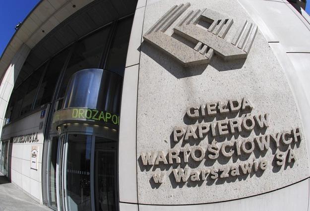 Budynek giełdy ewakuowany, sesja bez zakłóceń, fot. Włodzimierz Wasyluk /Reporter