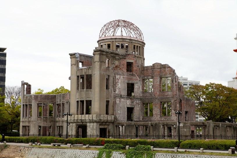Budynek Hiroszima Prefectural Industry zwany Kopułą Bomby Atomowej /Jerzy Ciszewski/ REPORTER /East News