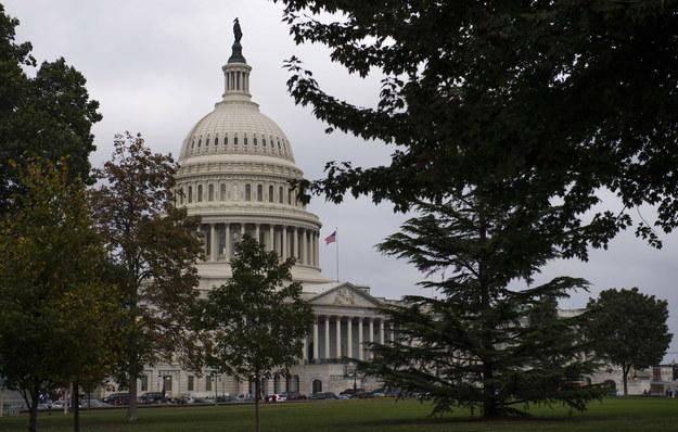 Budynek Kongresu /KEVIN DIETSCH/Newscom /PAP/EPA