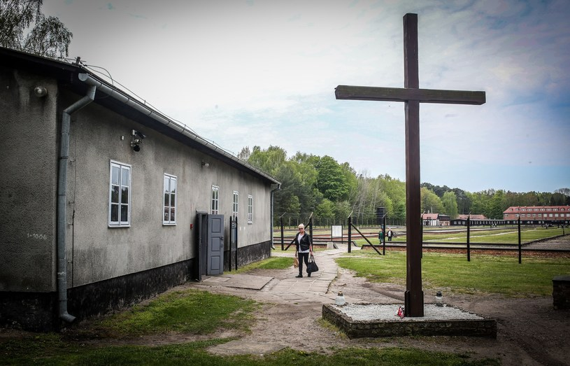 Budynek krematorium w Konzentrationslager Stutthof /Karolina Misztal /Reporter
