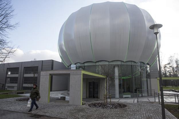 Budynek Laboratorium Symulacji Molekularnych. ARUZ - Analizator Rzeczywistych Układów Złożonych /PAP
