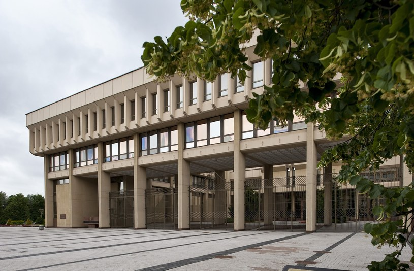 budynek litewskiego sejmu /MICHAL KOSC /Reporter