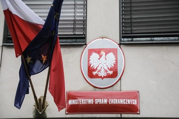 Budynek MSZ w Alei Szucha /Wojciech Olkuśnik /PAP