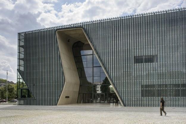 Budynek muzeum /Wojciech Pacewicz /PAP