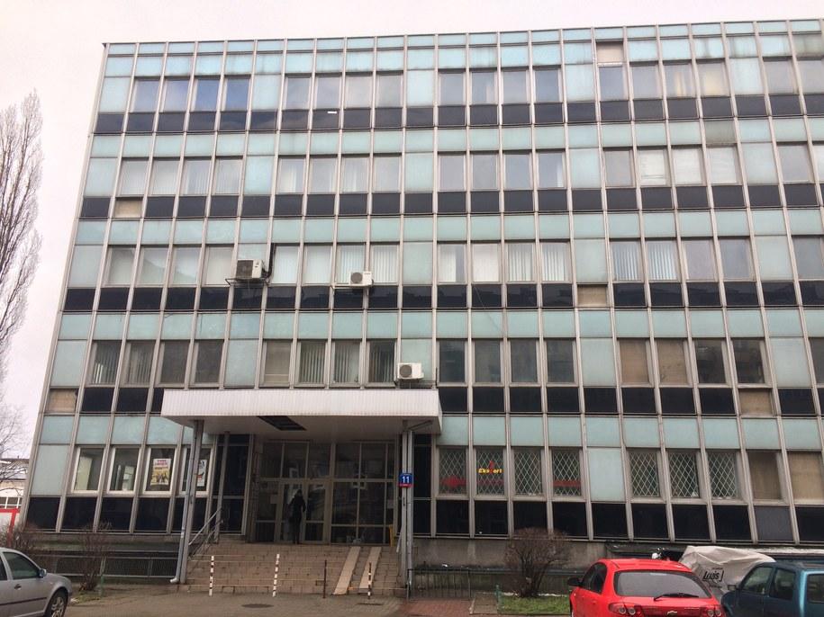 Budynek przy ulicy Miedzianej, gdzie wg. pisma znajduje się siedziba takiego rejestru /Krzysztof Berenda (RMF FM) /RMF FM