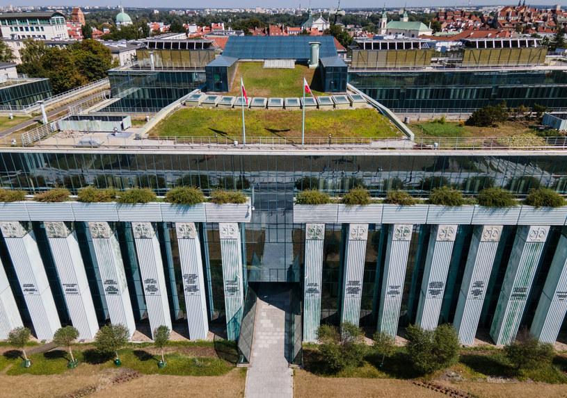 Budynek Sądu Najwyższego /Tomasz Jastrzębowski /Reporter