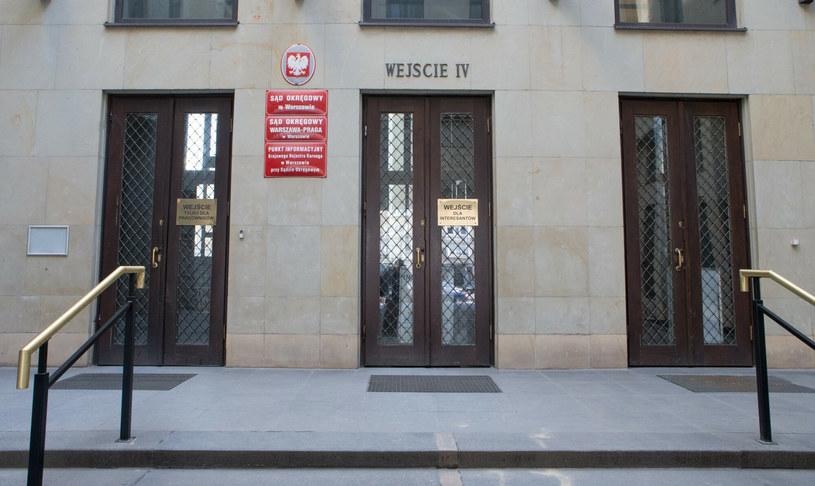Budynek Sądu Okręgowego w Warszawie /Tomasz Jastrzębowski /Reporter