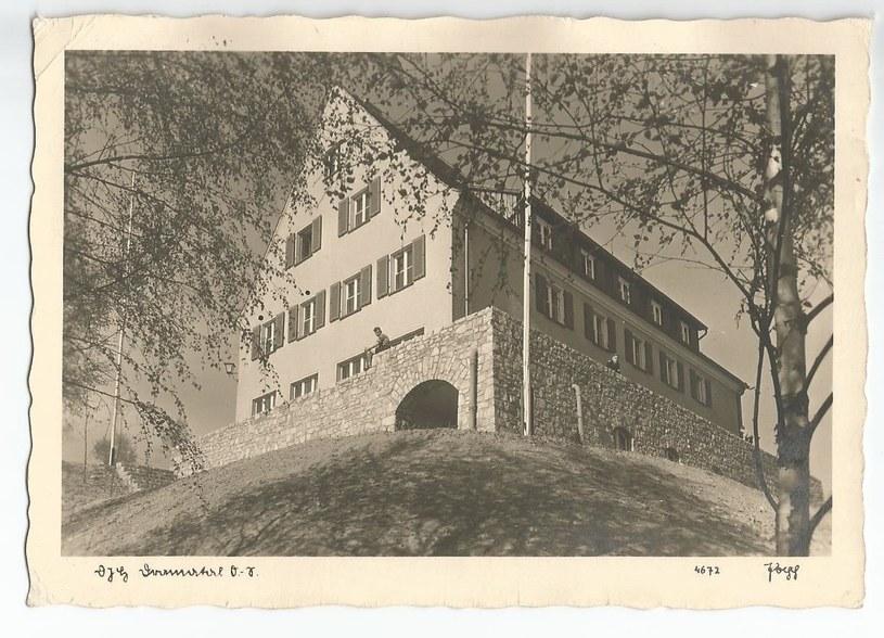 Budynek schroniska Hitlerjugend. Lata 30./40. XX wieku. /Odkrywca
