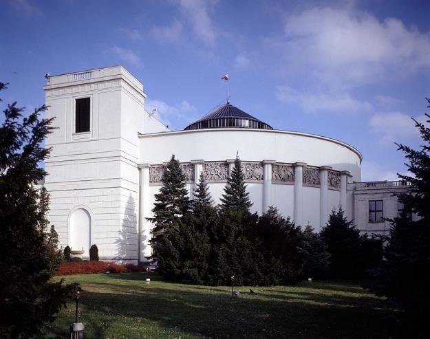 Budynek Sejmu, fot. Włodzimierz Echeński /Reporter