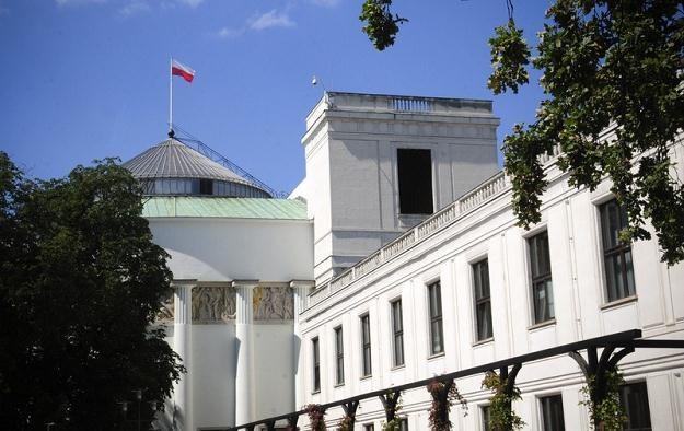 Budynek Sejmu w Warszawie /fot. Włodzimierz Wasyluk /Reporter