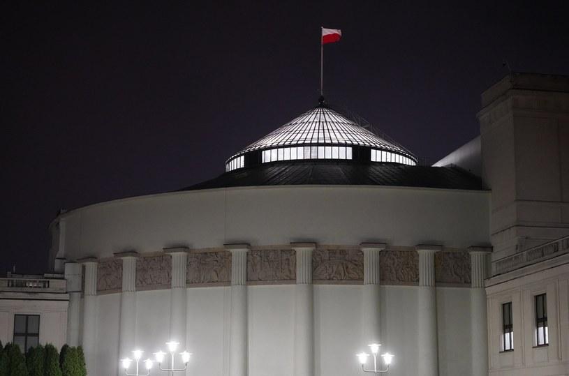 Budynek Sejmu /Mateusz Włodarczyk /Agencja FORUM