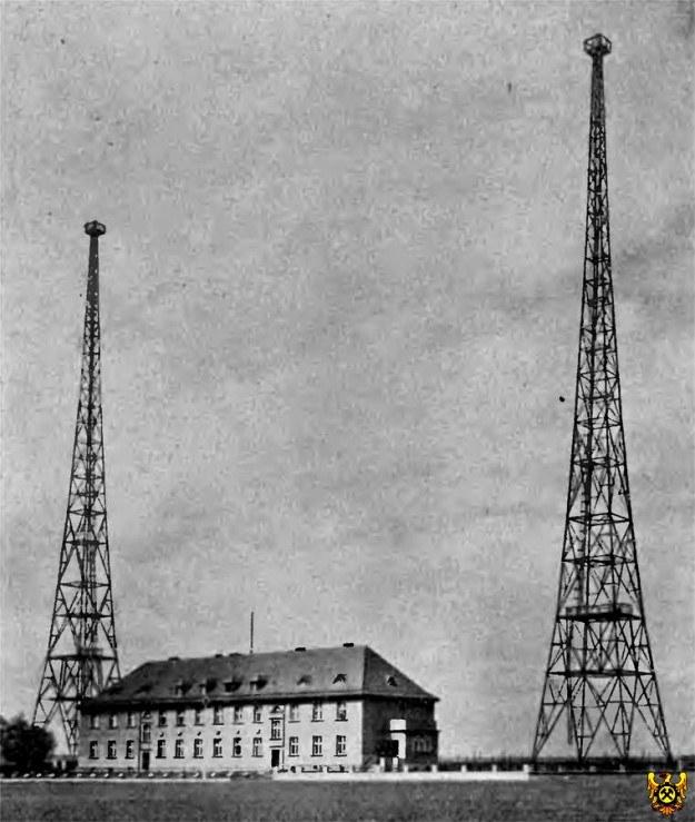 Budynek starej radiostacji na zdjęciu archiwalnym. /www.pnn.de /Odkrywca