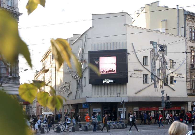 Budynek Teatru Bagatela w Krakowie /Damian Klamka /East News