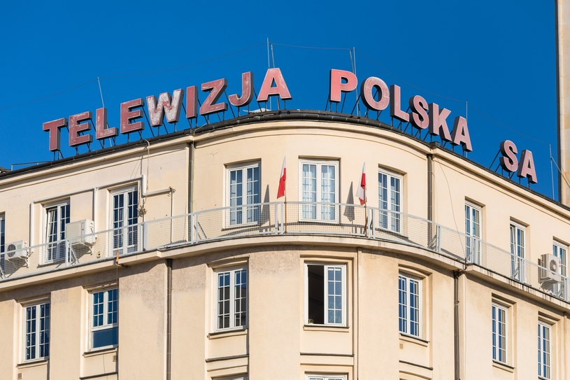 Budynek Telewizji Polskiej /Fot: Arkadiusz Ziolek /East News