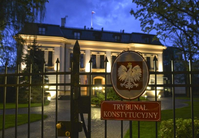 Budynek Trybunału Konstytucyjnego /Włodzimierz Wasyluk /East News
