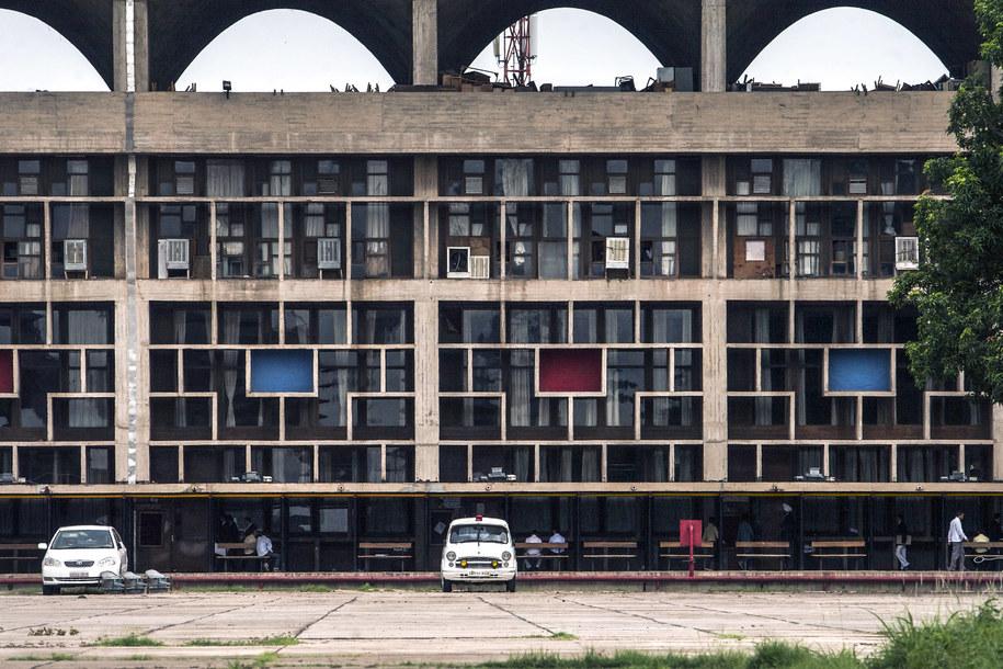 Budynek użyteczności publicznej w Indiach autorstwa Le Corbusiera /Krystof Kriz /PAP/EPA