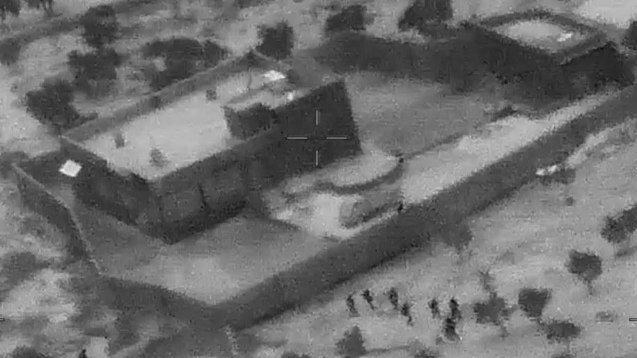 Budynek, w którym miał przebywać Abu Bakr al-Bagdadi /DVIDS HANDOUT /PAP/EPA