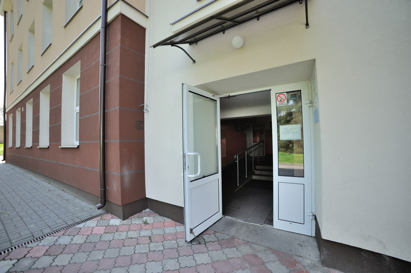 Budynek, w którym mieści się oddział nerwic młodzieżowych w Szpitalu Mazowieckim w Garwolinie /Przemysław Piątkowski /East News