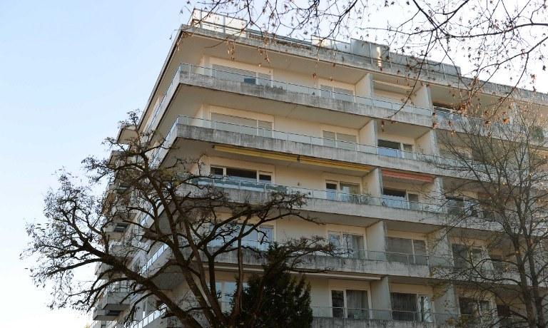 Budynek, w którym mieszkał Cornelius Gurlitt /AFP