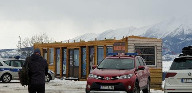 Budynek, z którego zerwał się dach /Słuchacz Radek /Gorąca Linia RMF FM