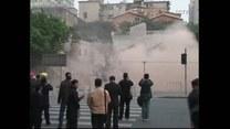Budynek zapadł się pod ziemię!