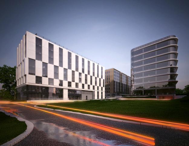 Budynki następnej fazy B4B w Krakowie /&nbsp