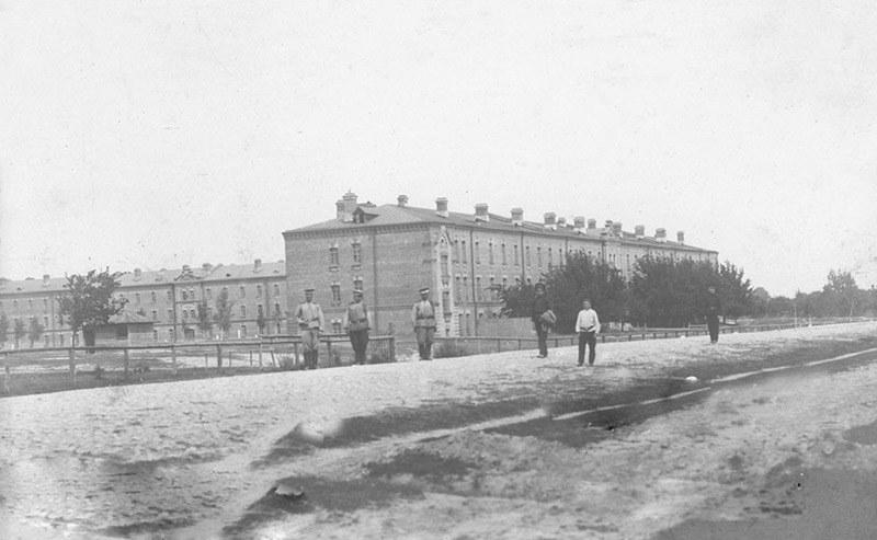 Budynki więzienia w Berezie Kartuskiej /INTERIA.PL/materiały prasowe