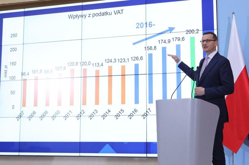 Budżet na rok 2020 będzie zrównoważony - zapowiedział premier Mateusz Morwiecki /Tomasz Jastrzebowski/REPORTER /Reporter